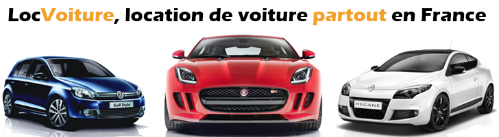 LocVoiture, location de voiture partout en France