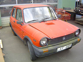 Location LANCIA A 112 Chamesey